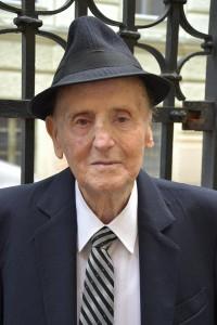 A holokauszt egyik túlélője