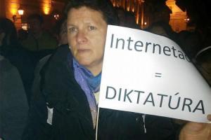Internetadó: Országszerte tiltakozások az FIDESZ kormány ötlete ellen