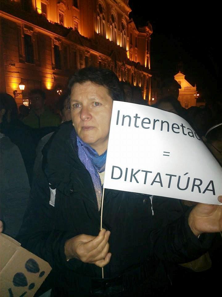 Internetadó = DIKTATÚRA