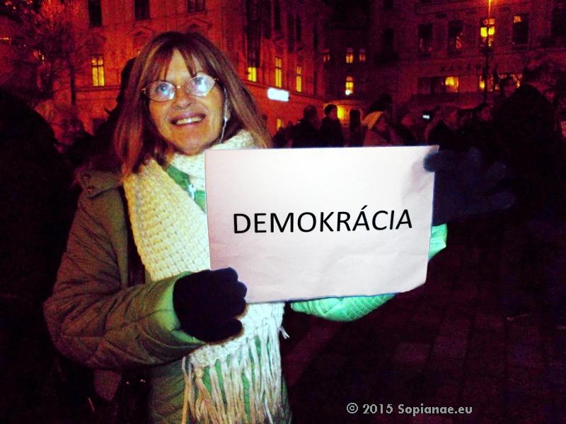 Demokrácia!