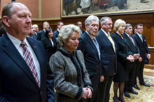 CDU/CSU-Parlamentrier bei der Ordensverleihung
