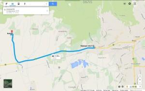 Boda fekvese - Google maps