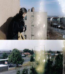Uránváros, a 6-os út egyik szakasza 1998-ban, már 23 éve használatban