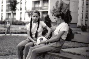 Uránváros, Pollack Mihály utca 1969-ben