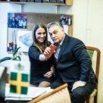 Orbán selfizik