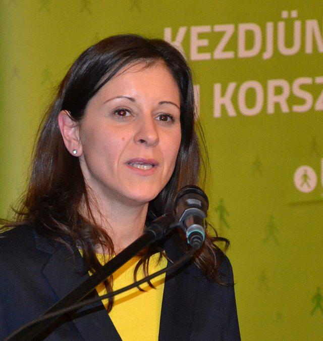 Bernadett Szél in Pécs 2018