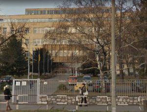 Medizinische Hochschule Pécs, Haupteingang