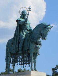 Der Hl. Stefan auf der Fischerbastei in Budapest